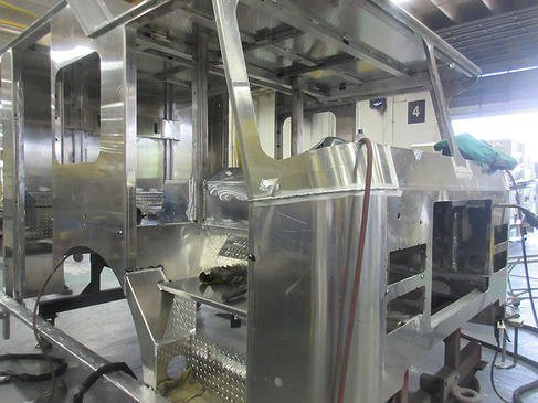 NEW E515 UPDATE – CAB WELDS COMPLETE