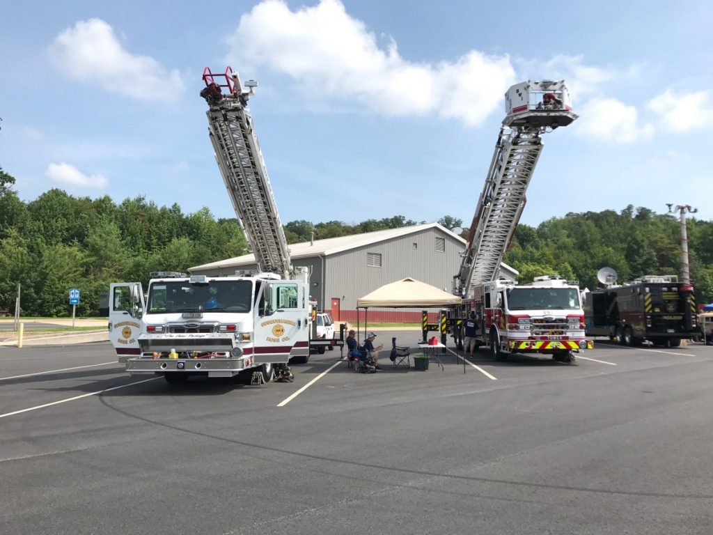 QUINT 5 ATTENDS I-95 SAFETY FAIR