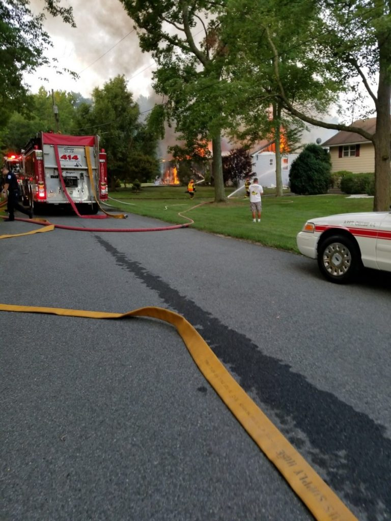 ENGINE 512 – NORTH EAST 2ND ALARM HOUSE FIRE
