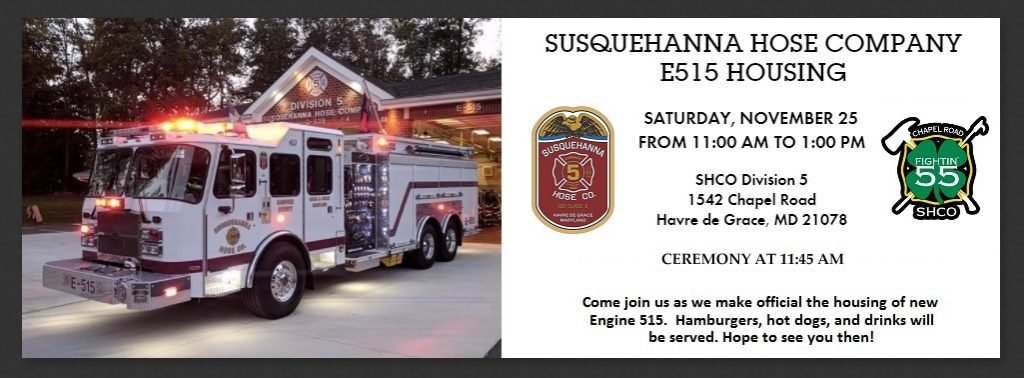 ENGINE 515 OFFICIAL HOUSING