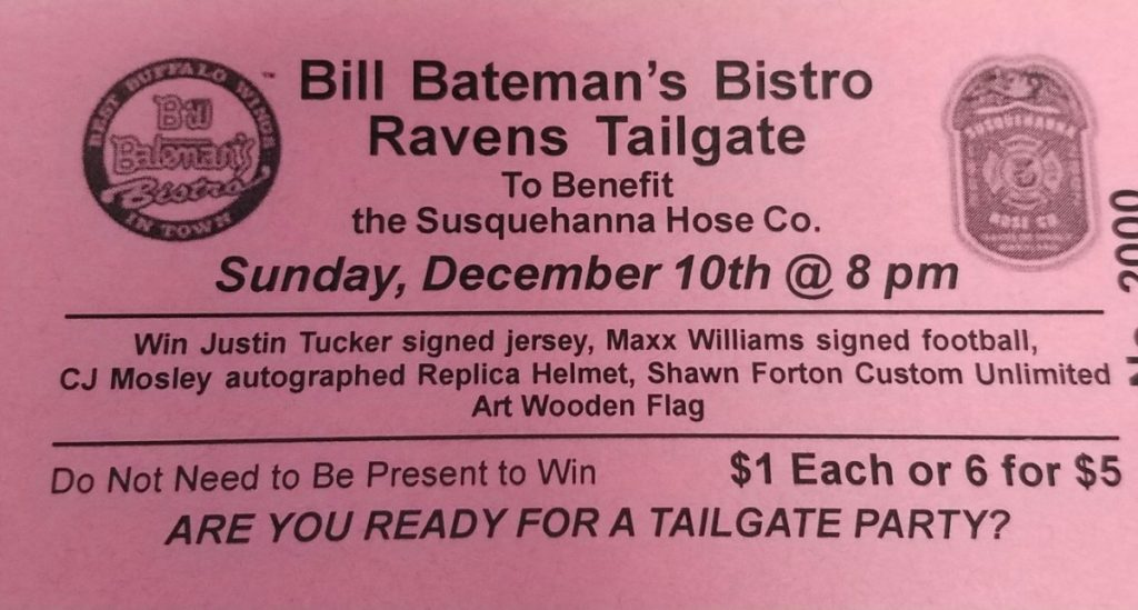 RAVENS TAILGATE PARTY