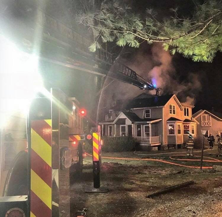 ENGINE 512 TO CONOWINGO 2ND ALARM HOUSE FIRE