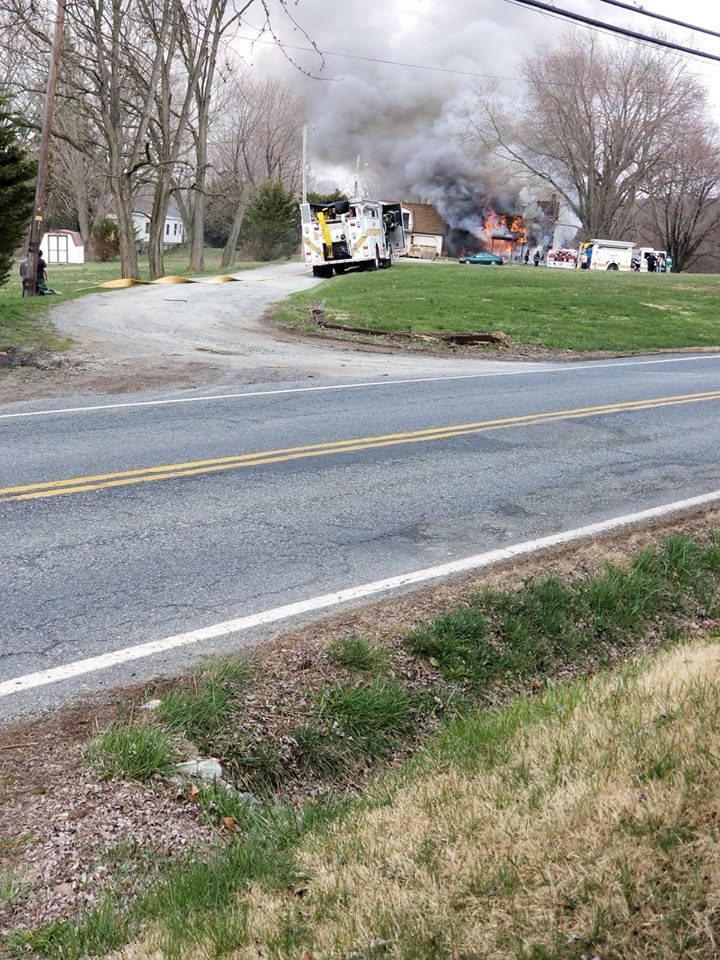 ENGINE 512 TO THE CONOWINGO HOUSE FIRE
