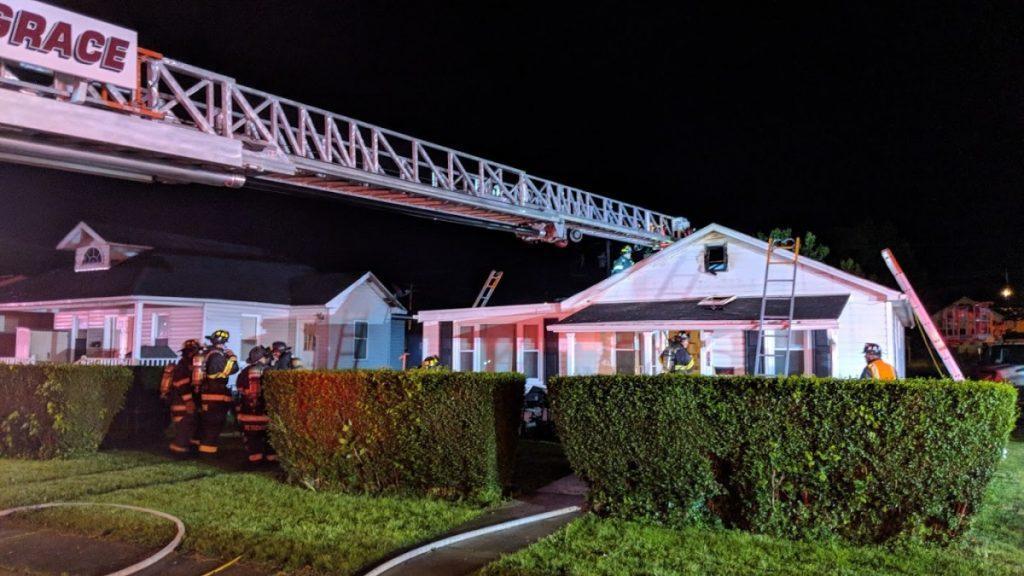 FIRST DUE HOUSE FIRE – 714 GIRARD STREET