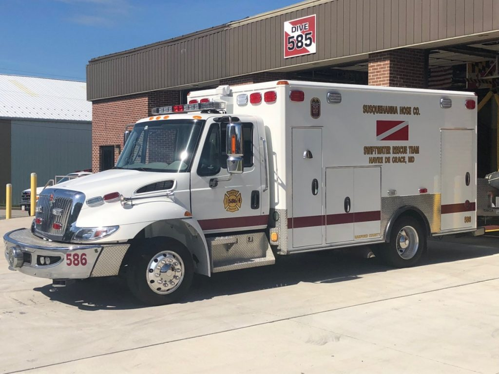 NEW SWIFTWATER UNIT PLACED IN SERVICE