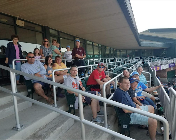 HOSE COMPANY MEMBERS ATTEND IRONBIRDS GAME