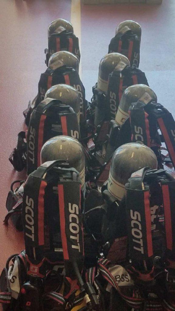 SHCo UPGRADES TO NEW SCOTT AIR-PAK X3 PRO SCBA